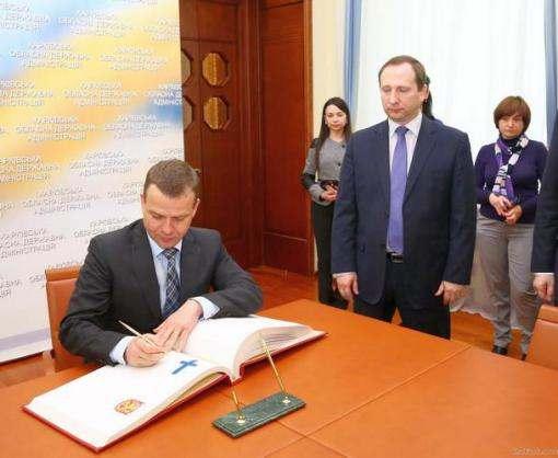 В Харькове побывал финский посол