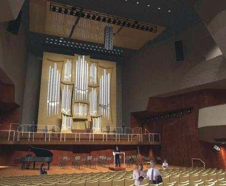 Как продвигается строительство в органном зале Харькова