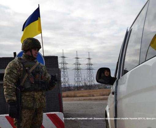 В Луганской области открыли первый автомобильный пункт пропуска