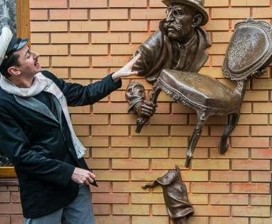 В Харькове появился Киса Воробьянинов