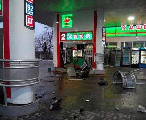 ДТП в Харькове: пьяный разнес заправку