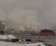В Москве горит здание Минобороны РФ: видео