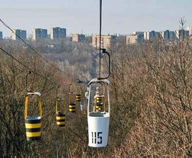 Харьковская «канатка» закрыта на ремонт