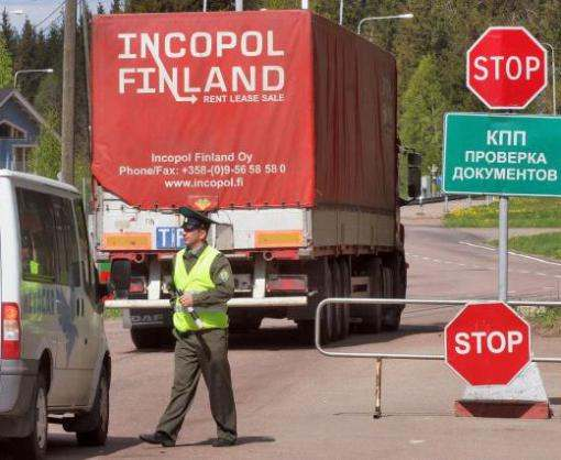 В Крым не пускают автомобили с украинскими номерами
