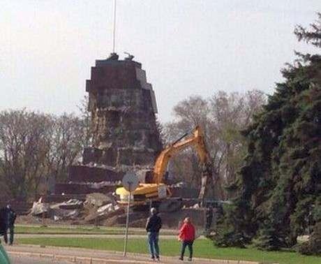 В Харькове идет масштабный демонтаж