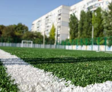 В Харькове реконструируют еще два школьных стадиона