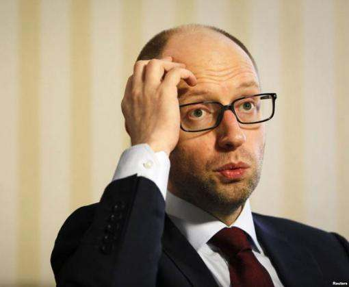 В Верховную Раду внесен проект постановления об отставке Арсения Яценюка