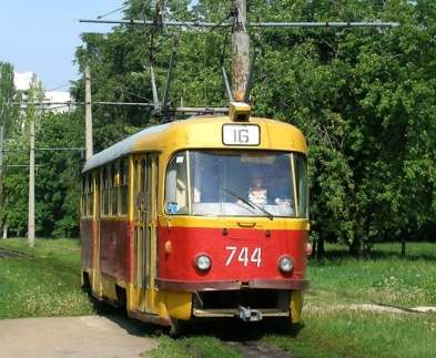 В Харькове по Салтовке в воскресенье не будут ходить трамваи
