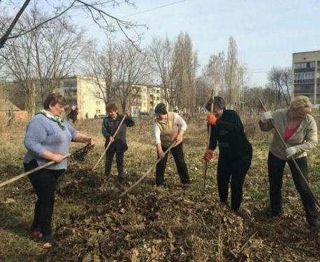 В Харьковском районе решили устраивать субботники еженедельно