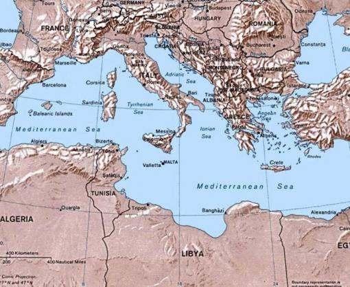В Средиземном море погибли более 400 человек