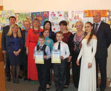 Харьковские дети поделились своим видением безопасности на производстве