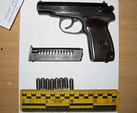 Харьковские полицейские изъяли оружие