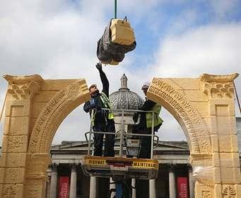 В Лондоне появилась копия разрушенной Триумфальной арки