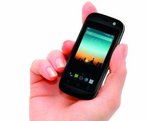 Самый маленький в мире Android-смартфон поступил в продажу