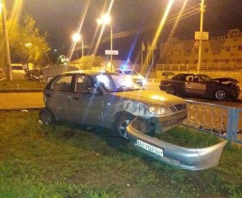 ДТП в Харькове: гонки на дороге и трое пострадавших