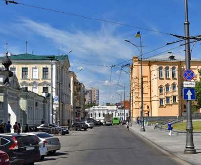 В Харькове перекрыта улица Университетская
