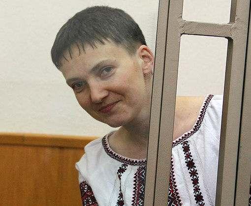 Вера Савченко привезла в Харьков книгу сестры