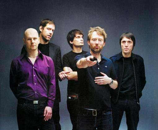 Легендарная группа Radiohead исчезла из интернета