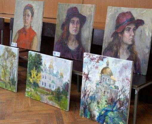 Харьковчанка победила на конкурсе живописи в Полтаве