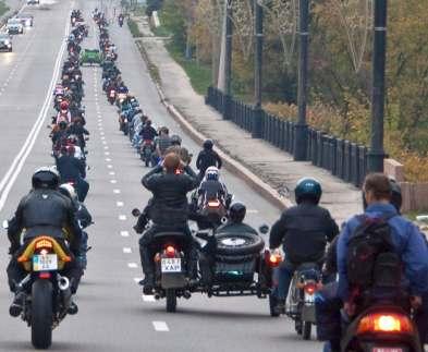 В Харькове ввели новые правила для мотоциклистов