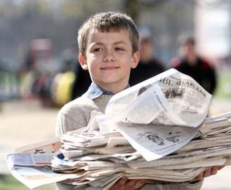 Харьковские школьники смогут получить за макулатуру плазменные телевизоры
