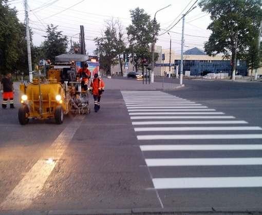 У харьковских детсадов появится пешеходная разметка