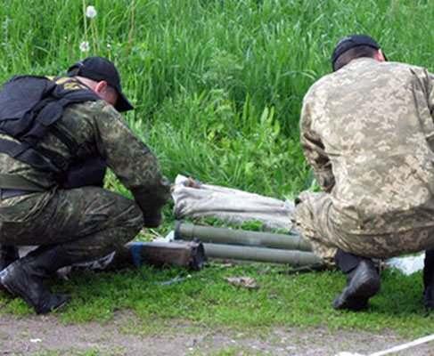 В лесу под Харьковом нашли гранатометы