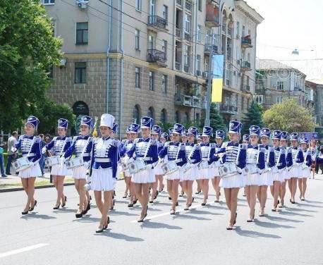 В Харькове прошел парад вузов
