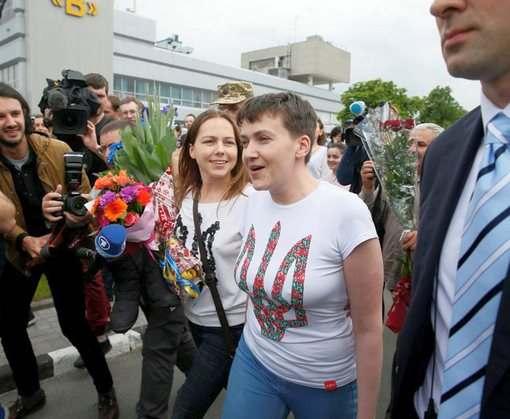 Надежда Савченко вернулась в Украину: видео-факт