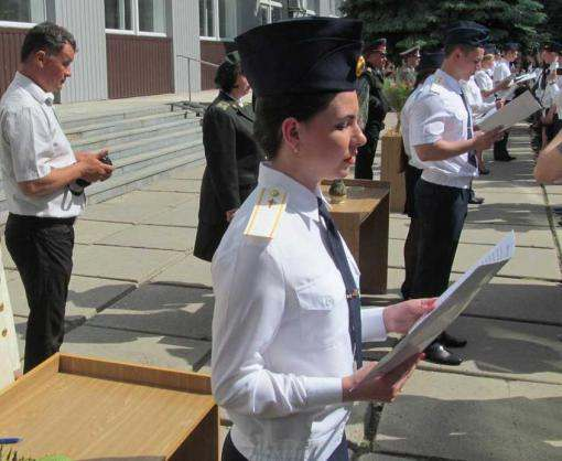 Военные медики приняли присягу в Харькове