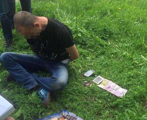 Под Харьковом задержан торговец оружием из зоны АТО