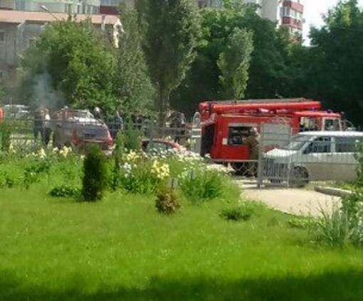 Пожар в Харькове: на улице Невского горел Hyundai