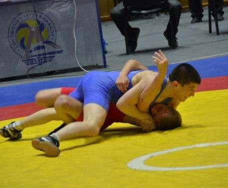 Харьков принимает чемпионат Украины по вольной борьбе