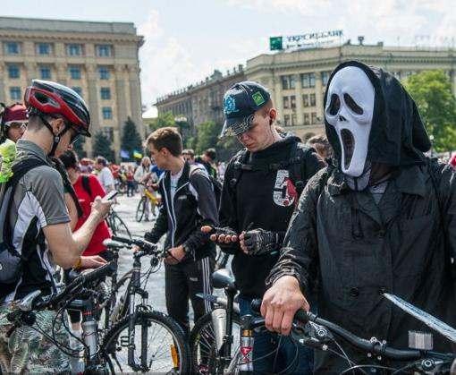 Как в Харькове прошел Велодень