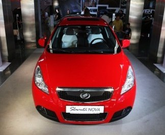 ЗАЗ представил на столичном автошоу обновленную модель Slavuta