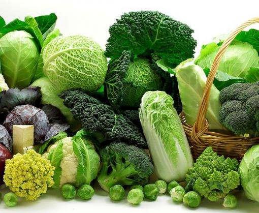 Зеленые овощи помогут сохранить зрение