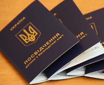 В Харькове многодетные семьи остались без удостоверений