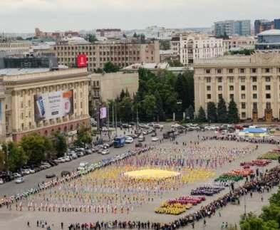 В Харькове прошла акция «Дети Харькова – за мир!»