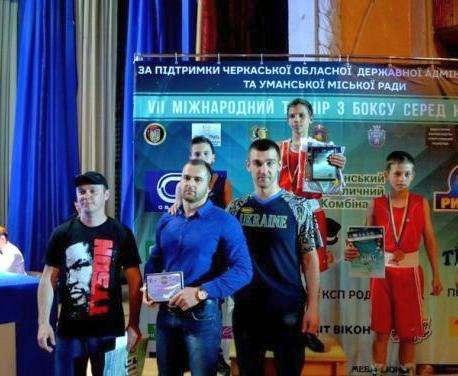 Харьковчанин победил на всеукраинском турнире по боксу