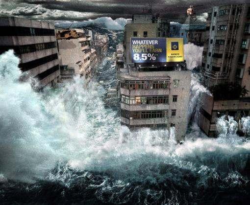 NASA прогнозирует Всемирный потоп