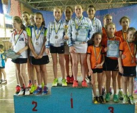 Харьковчанки выиграли чемпионат Украины по бадминтону