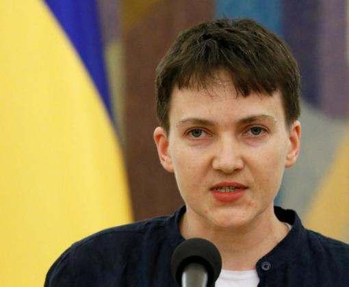 Надежда Савченко предложила провести прямые переговоры с «ДНР» и «ЛНР»