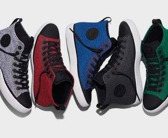 Converse запустил новую линию обуви All Star