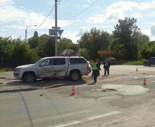 ДТП в Харькове: двое пострадавших