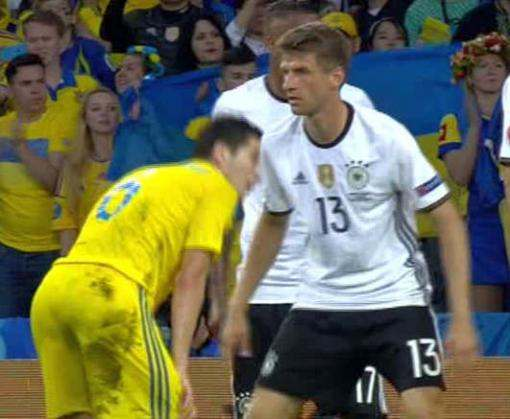 Евро-2016: Германия — Украина 2:0