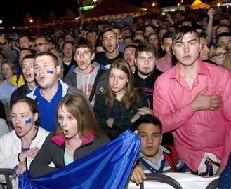 Украинские футболисты попали под немецкую машину