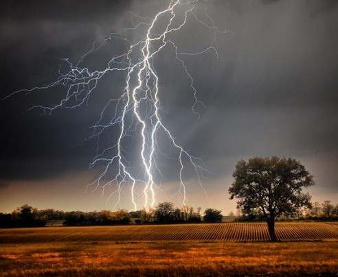 Под Харьковом ребенок погиб от удара молнией