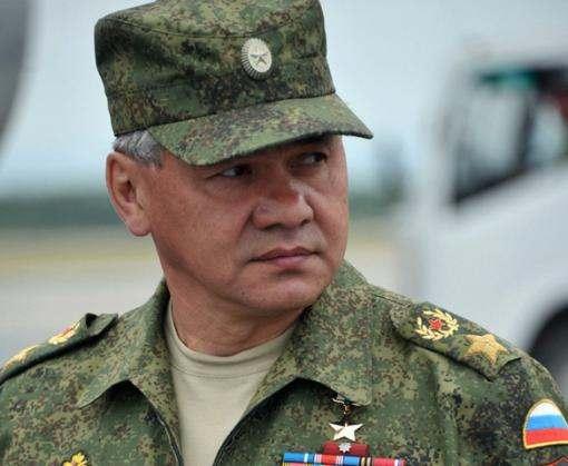 В Крым приехал Сергей Шойгу