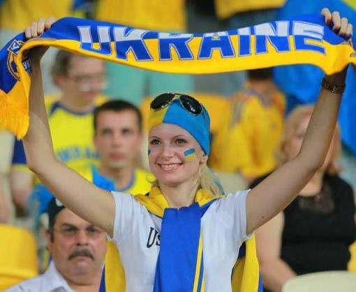 Евро-2016: украинские фаны готовят шоу к матчу Украина-Северная Ирландия