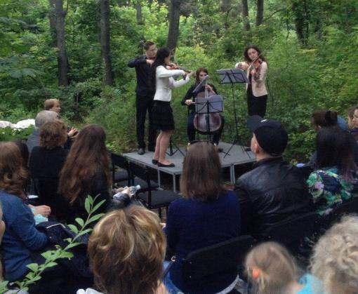 Харьковчане смогли насладиться классической музыкой в лесу